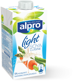 Soja light Sahne Alternative Cuisine Kochcreme