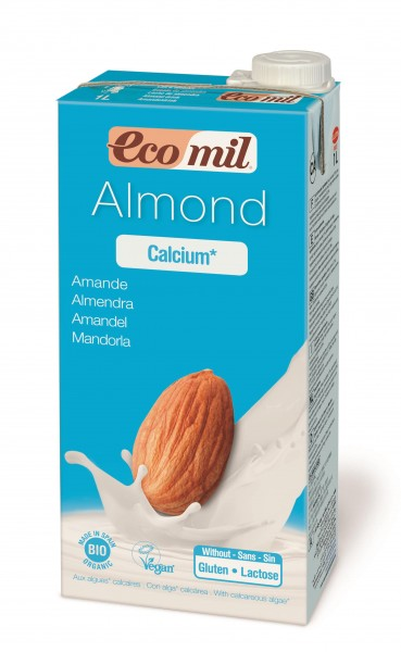 Bio Calcium Mandelmilch gesüßt 1l Tetra