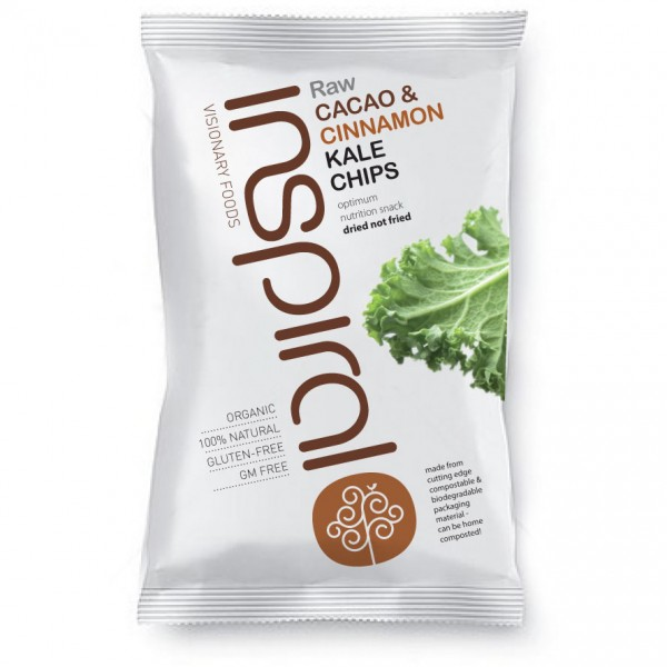 Kale Chips Raw Cacao & Cinamon