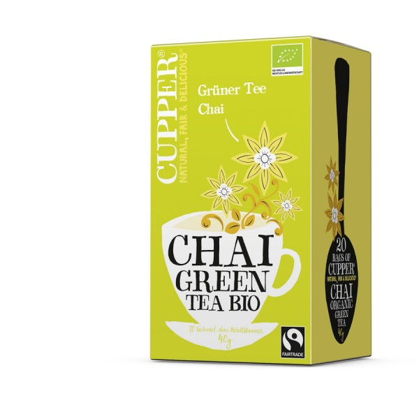 Cupper Tea Grüner Tee Chai-Copy